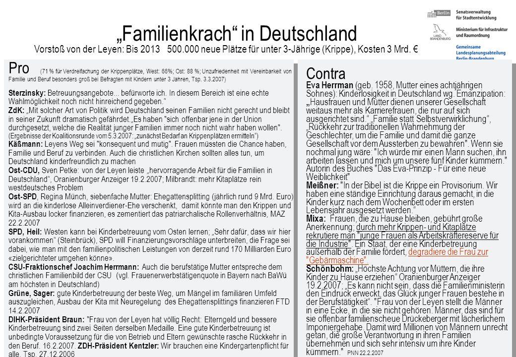 """""""Familienkrach in Deutschland"""