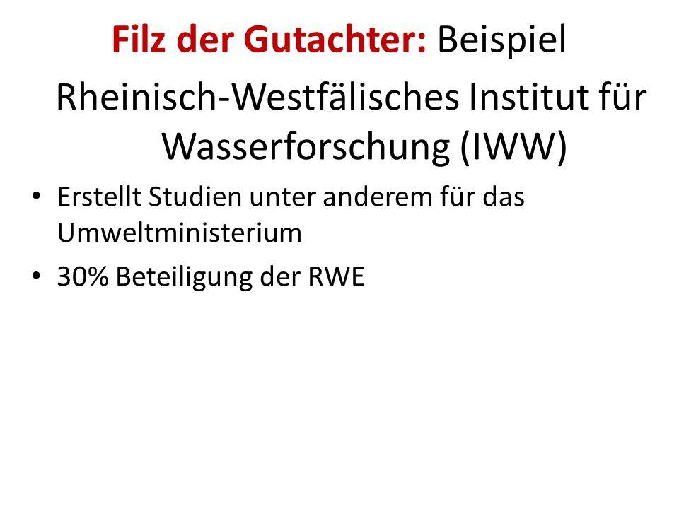 Filz der Gutachter: Beispiel Prof. Tomas Eikmann, Uni Gießen