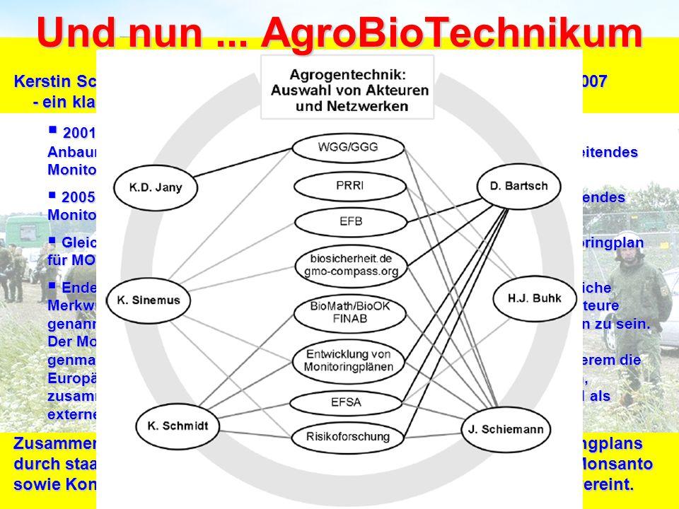 Und nun ... AgroBioTechnikum