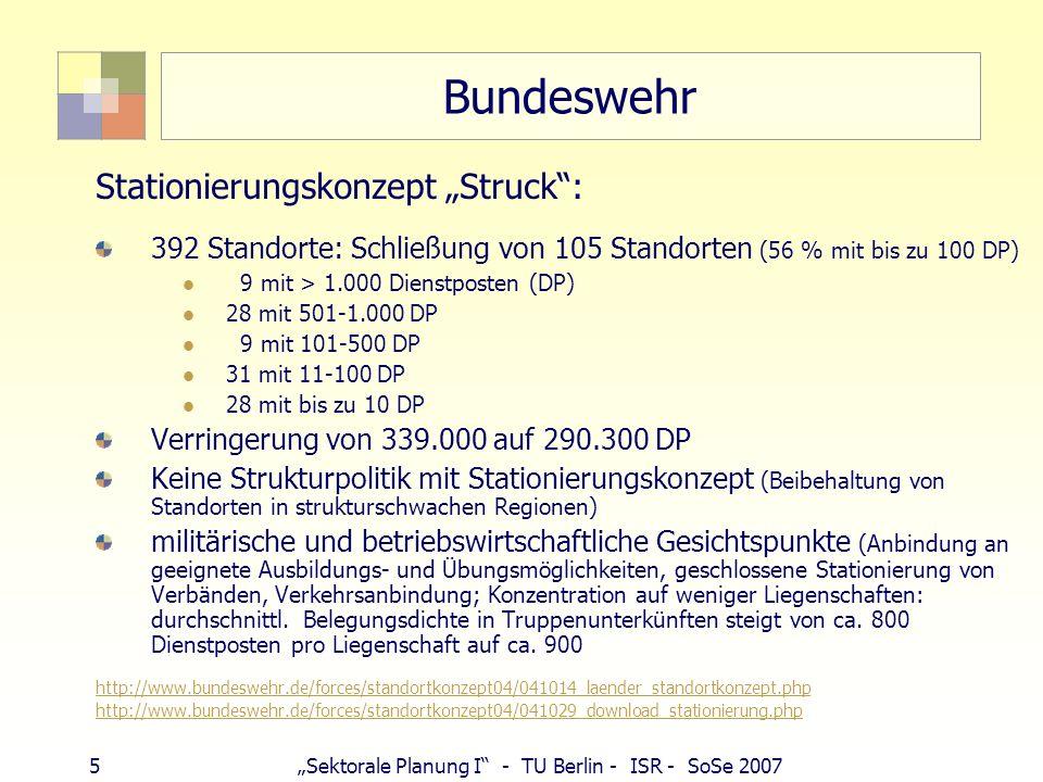 """Bundeswehr Stationierungskonzept """"Struck :"""