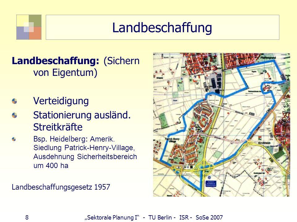 Landbeschaffung Landbeschaffung: (Sichern von Eigentum) Verteidigung