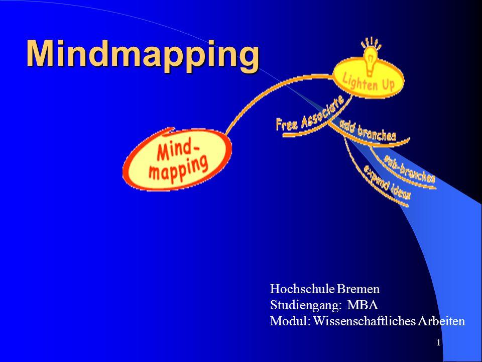 Mindmapping Hochschule Bremen Studiengang: MBA