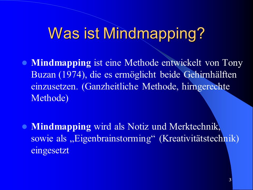 Was ist Mindmapping