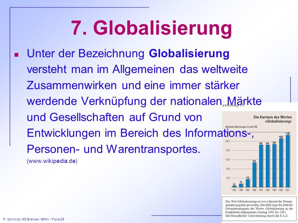 7. Globalisierung