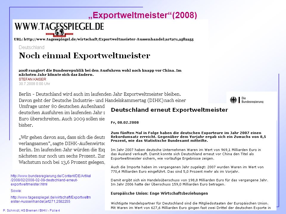 """Exportweltmeister (2008)"
