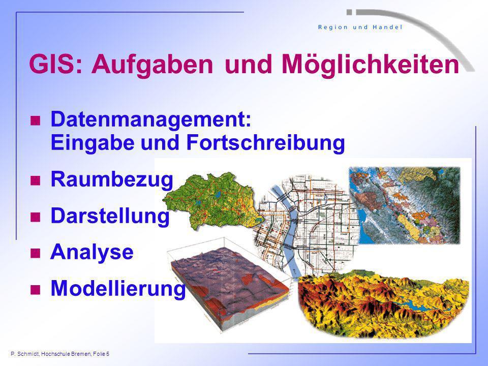 GIS: Aufgaben und Möglichkeiten