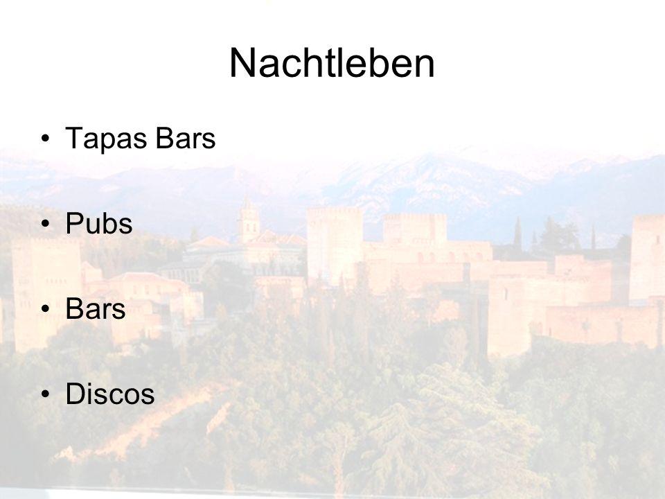 Nachtleben Tapas Bars Pubs Bars Discos