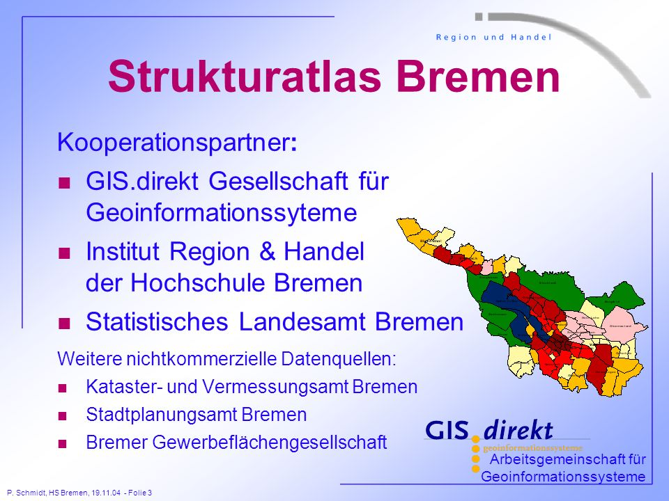 Strukturatlas Bremen Kooperationspartner: