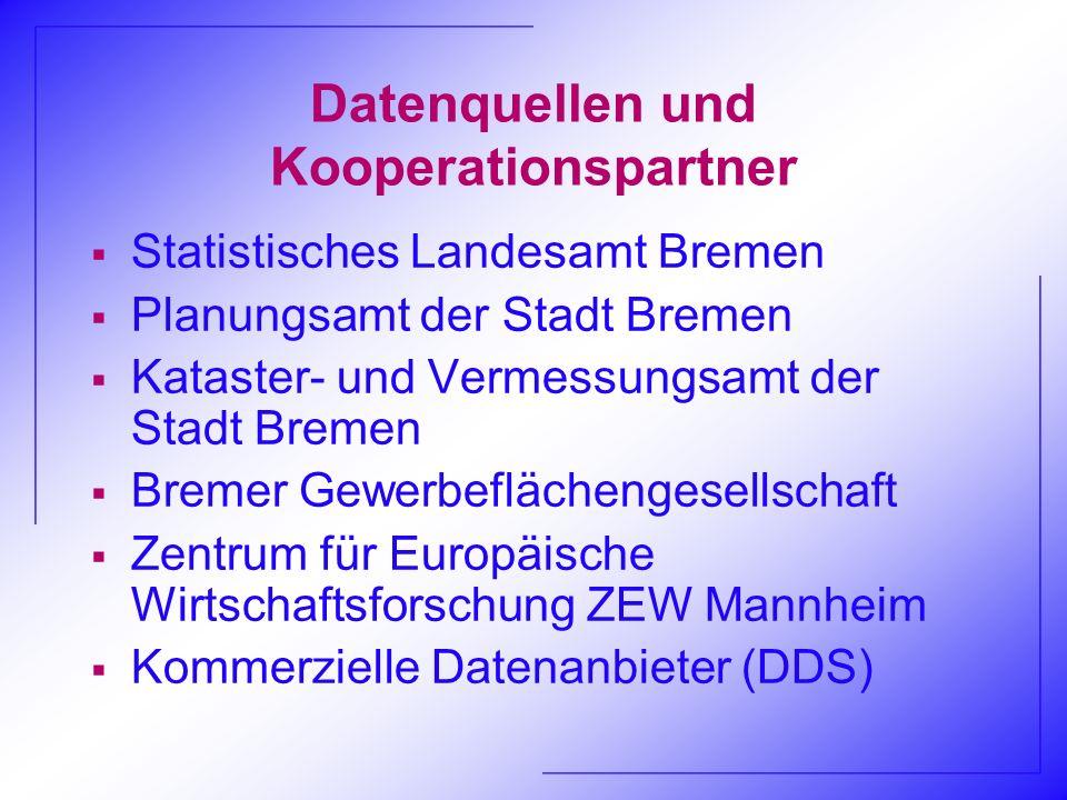 Datenquellen und Kooperationspartner