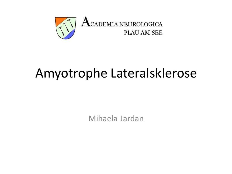Amyotrophe Lateralsklerose