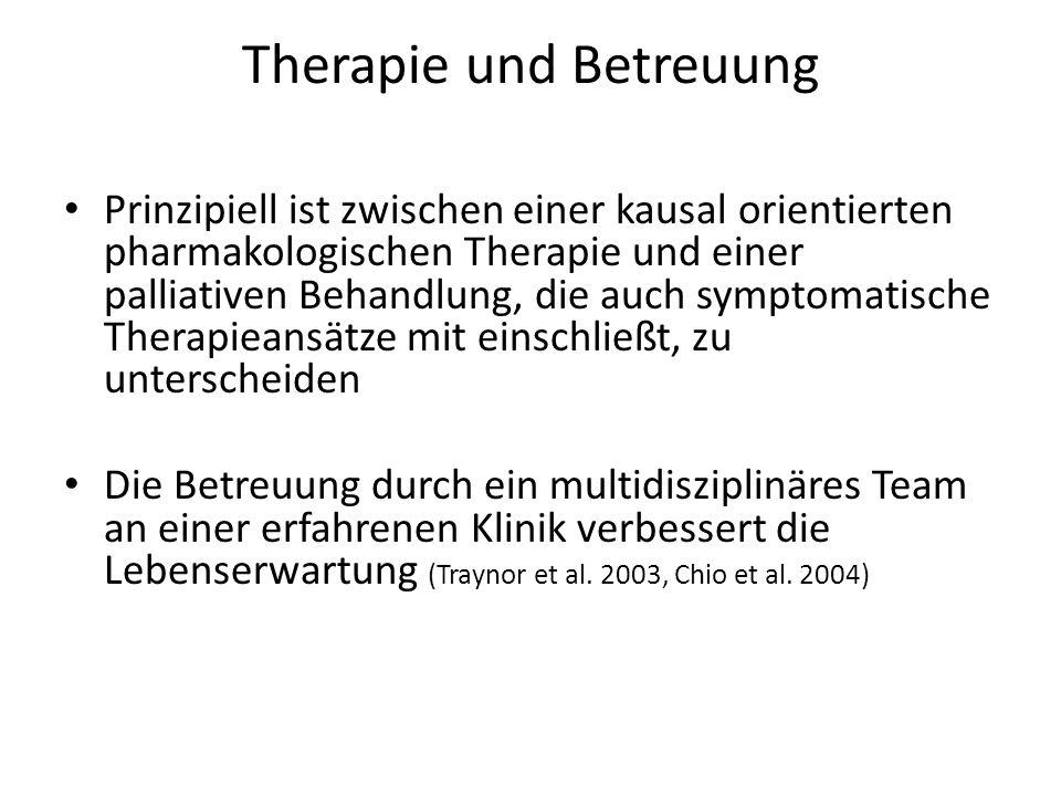 Therapie und Betreuung