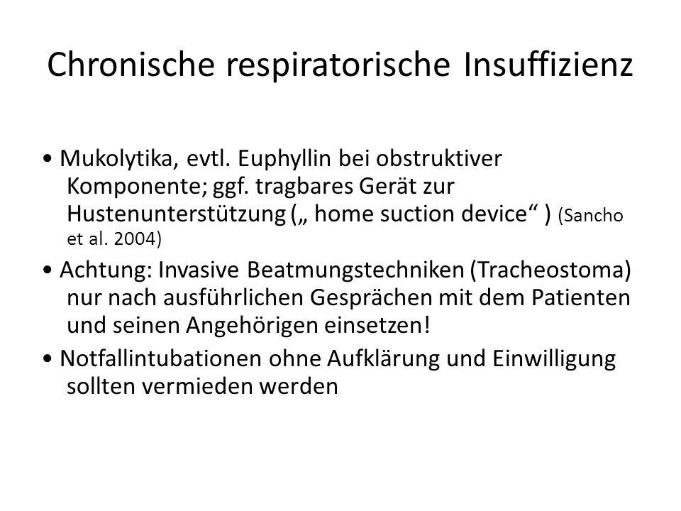 Chronische respiratorische Insuffizienz