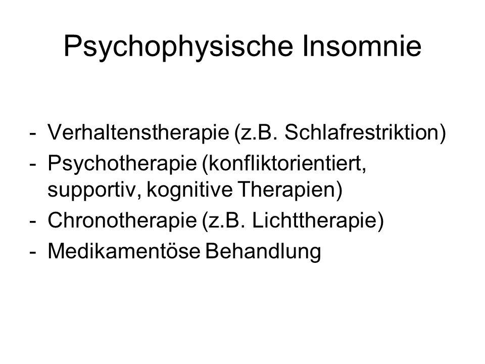 Psychophysische Insomnie