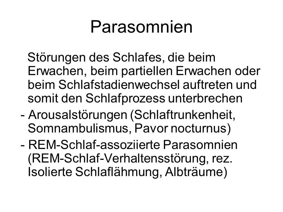 Parasomnien