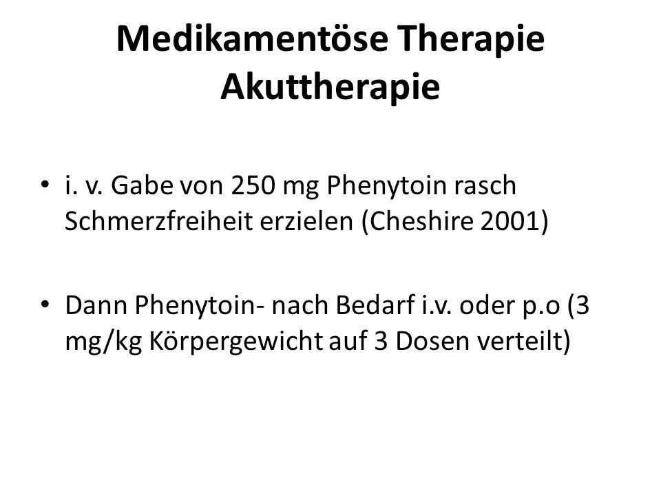 Medikamentöse Therapie Akuttherapie