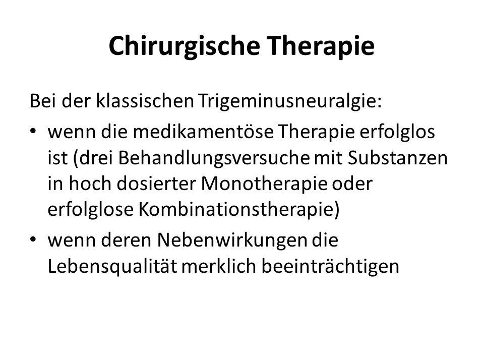 Chirurgische Therapie