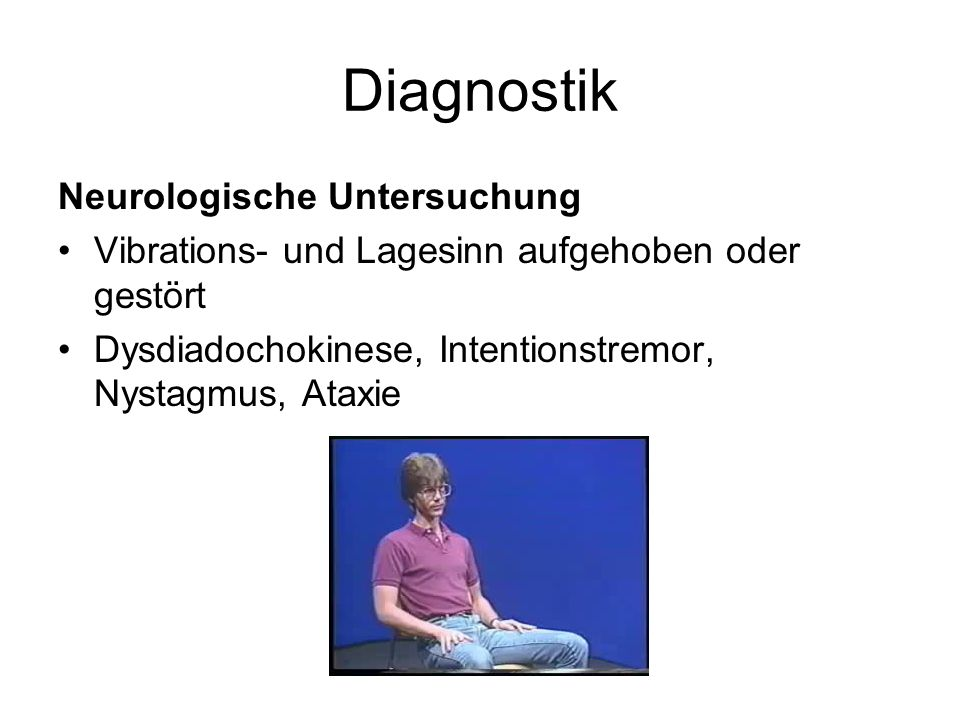 Diagnostik Neurologische Untersuchung