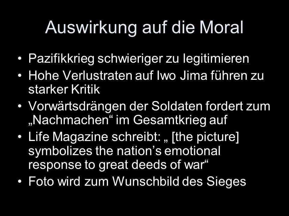 Auswirkung auf die Moral
