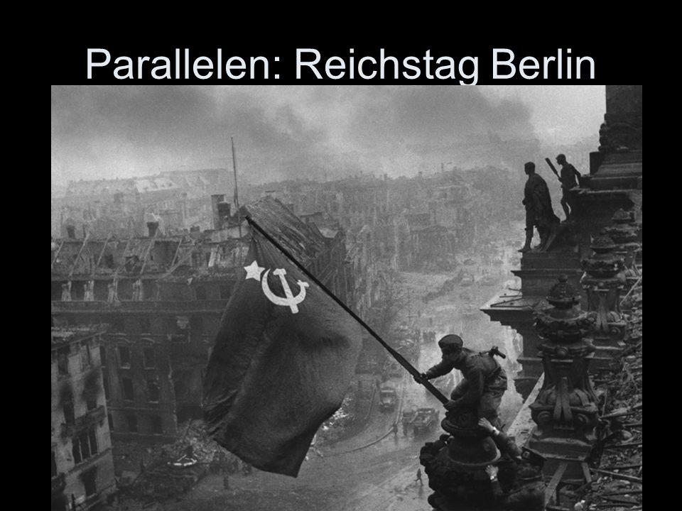 Parallelen: Reichstag Berlin