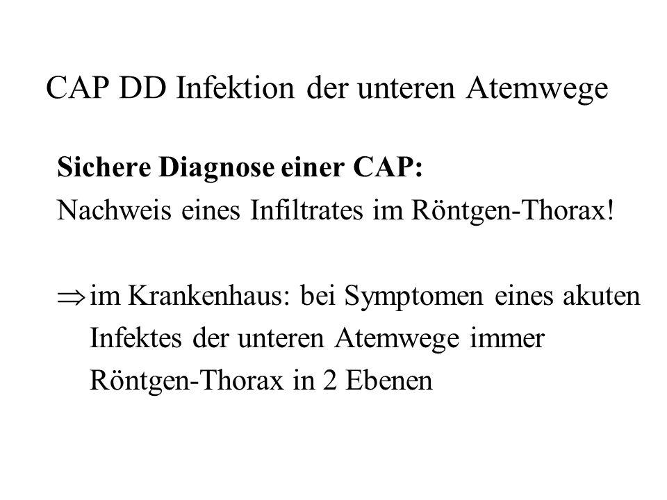 CAP DD Infektion der unteren Atemwege