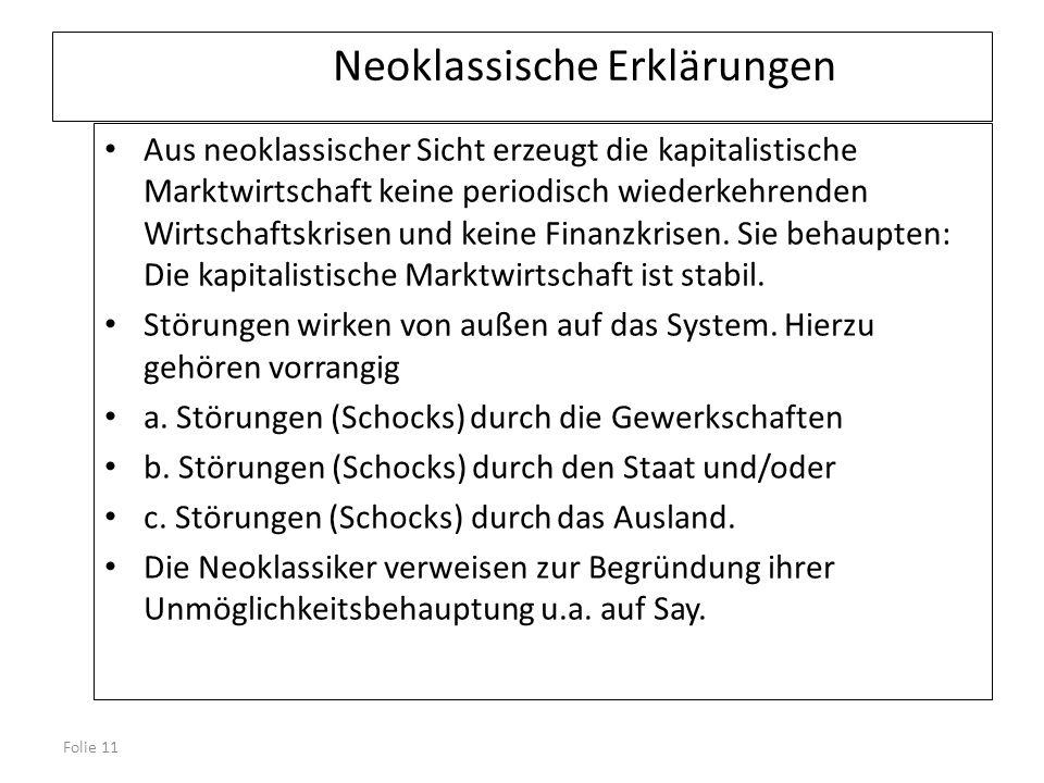 Neoklassische Erklärungen