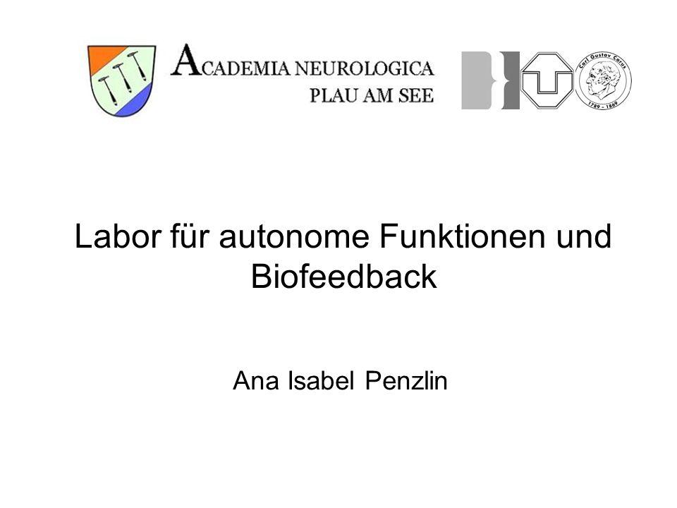 Labor für autonome Funktionen und Biofeedback