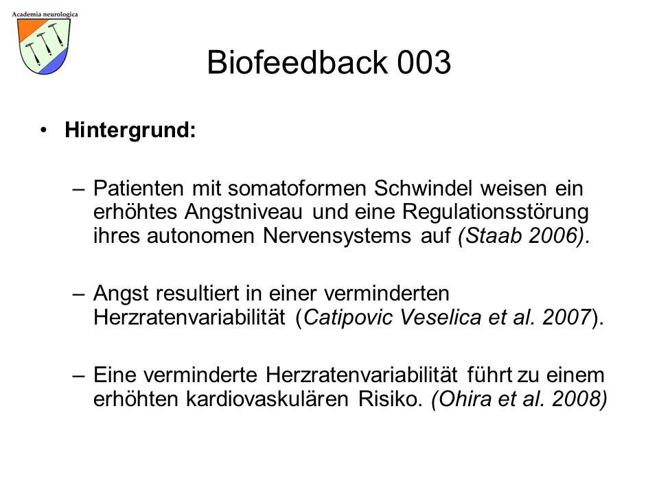 Biofeedback 003 Hintergrund: