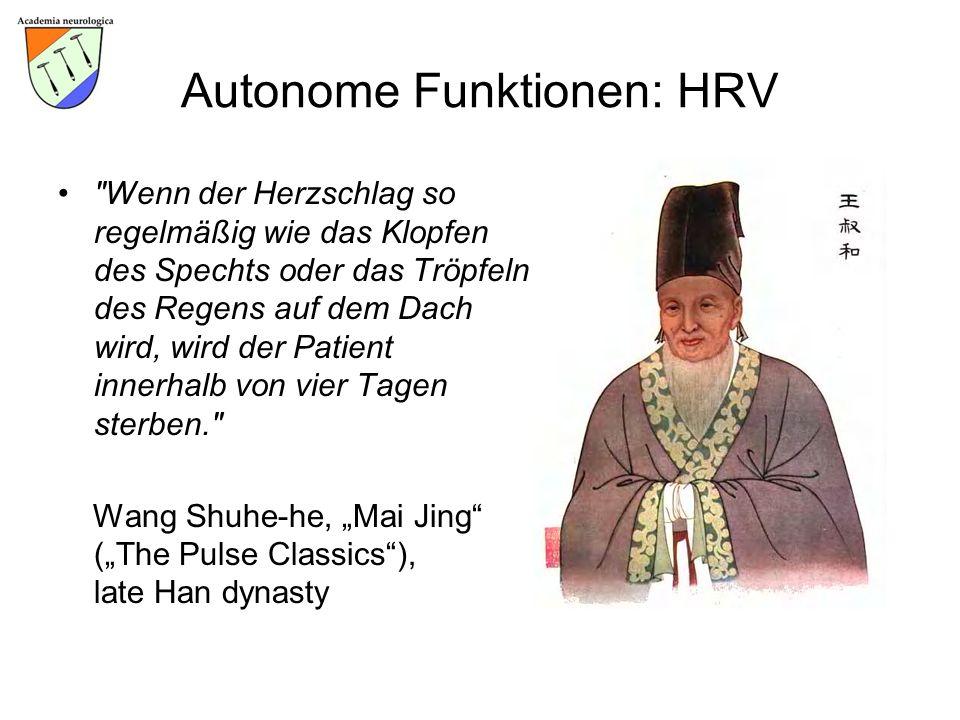 Autonome Funktionen: HRV