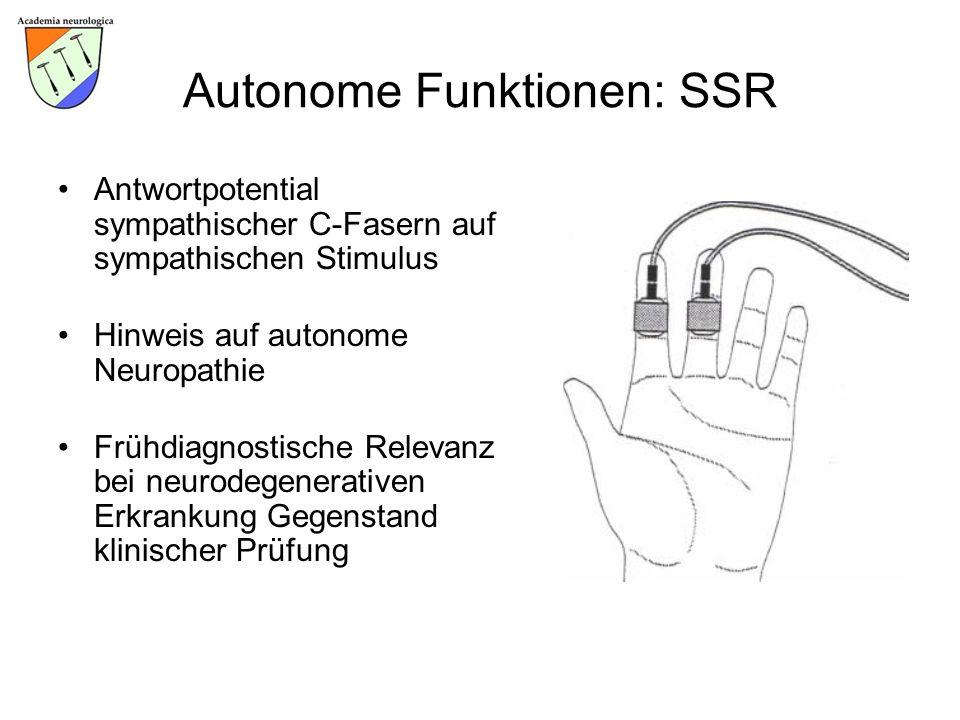 Autonome Funktionen: SSR