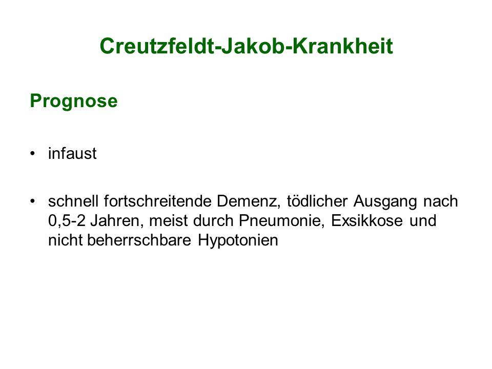 Creutzfeldt-Jakob-Krankheit