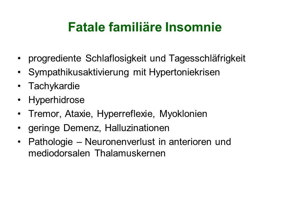 Fatale familiäre Insomnie