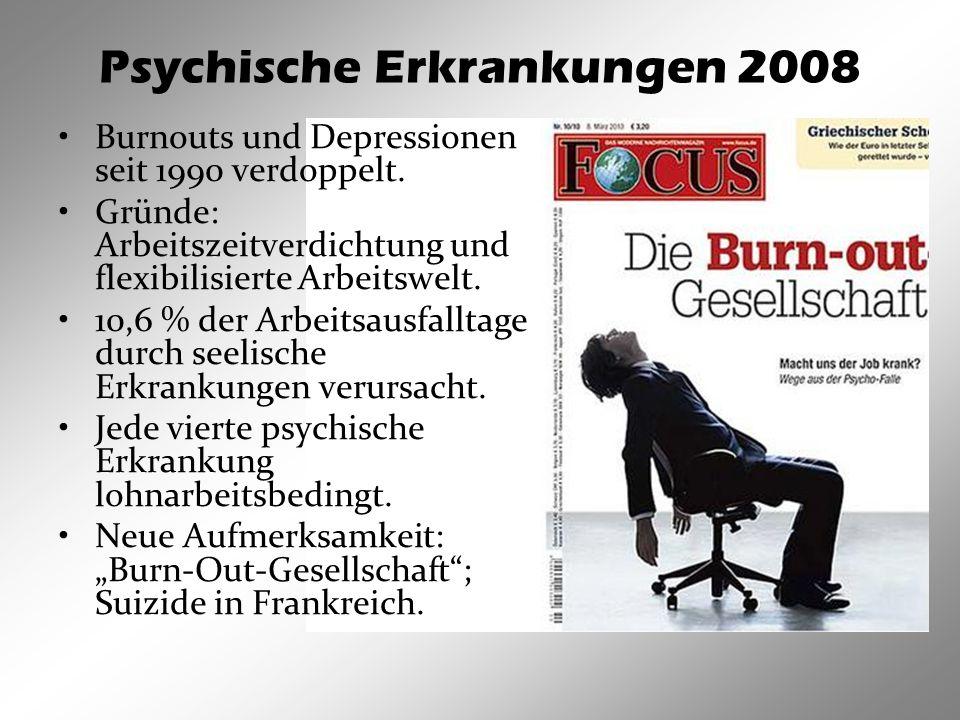 Psychische Erkrankungen 2008