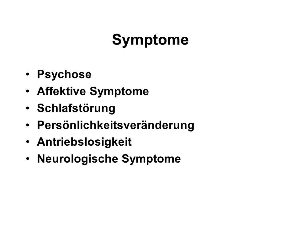 Symptome Psychose Affektive Symptome Schlafstörung