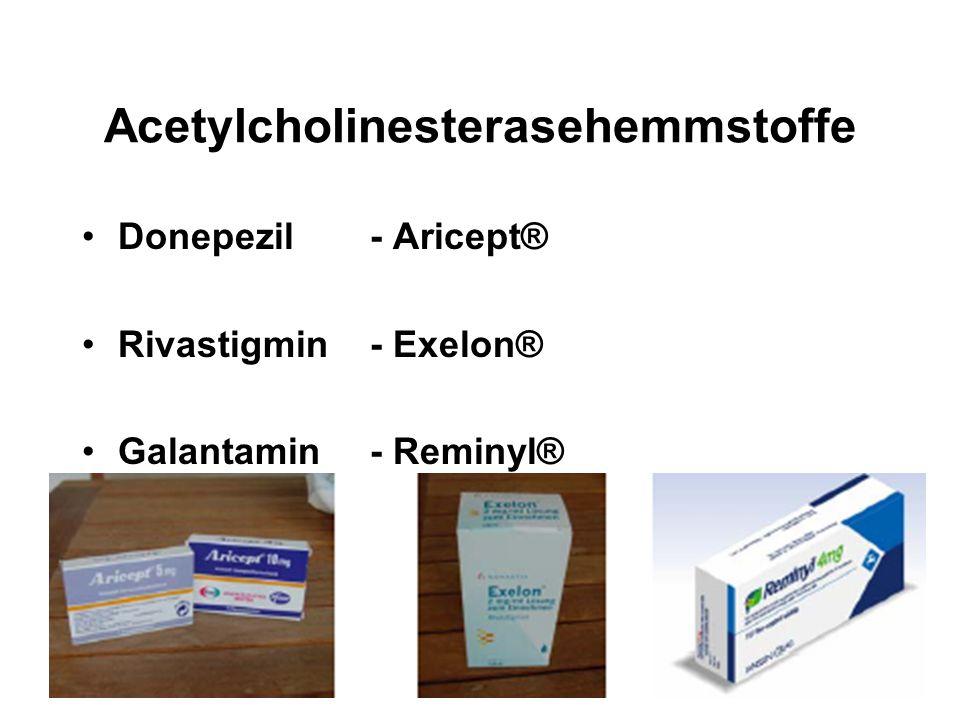 Acetylcholinesterasehemmstoffe