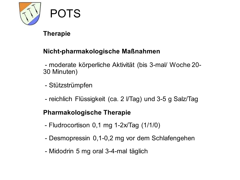 POTS Therapie Nicht-pharmakologische Maßnahmen