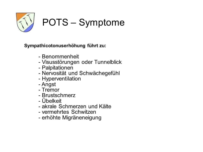 POTS – Symptome - Benommenheit - Visusstörungen oder Tunnelblick