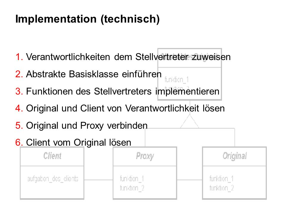 Implementation (technisch)
