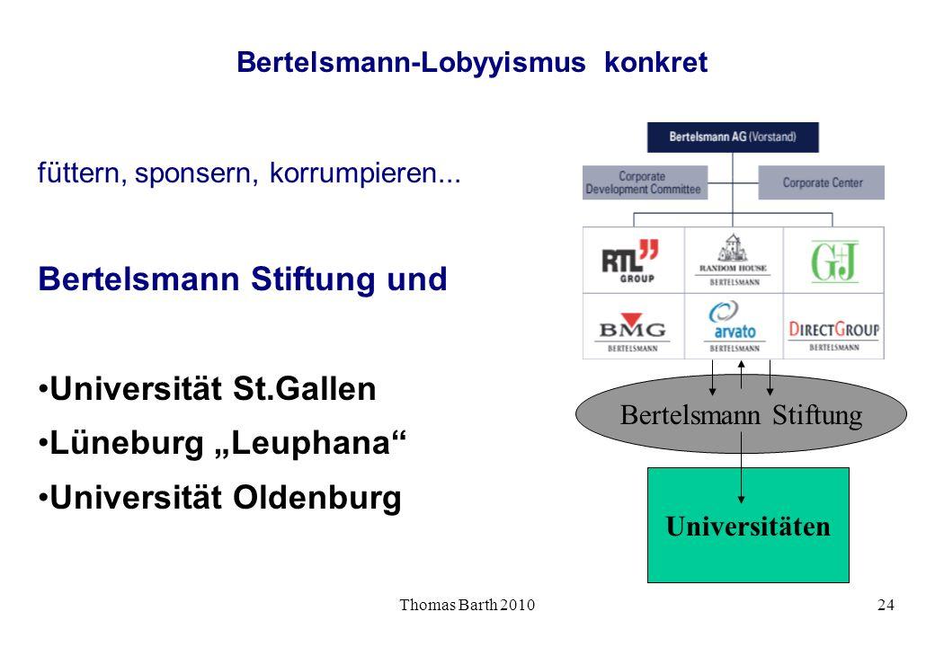 Bertelsmann-Lobyyismus konkret