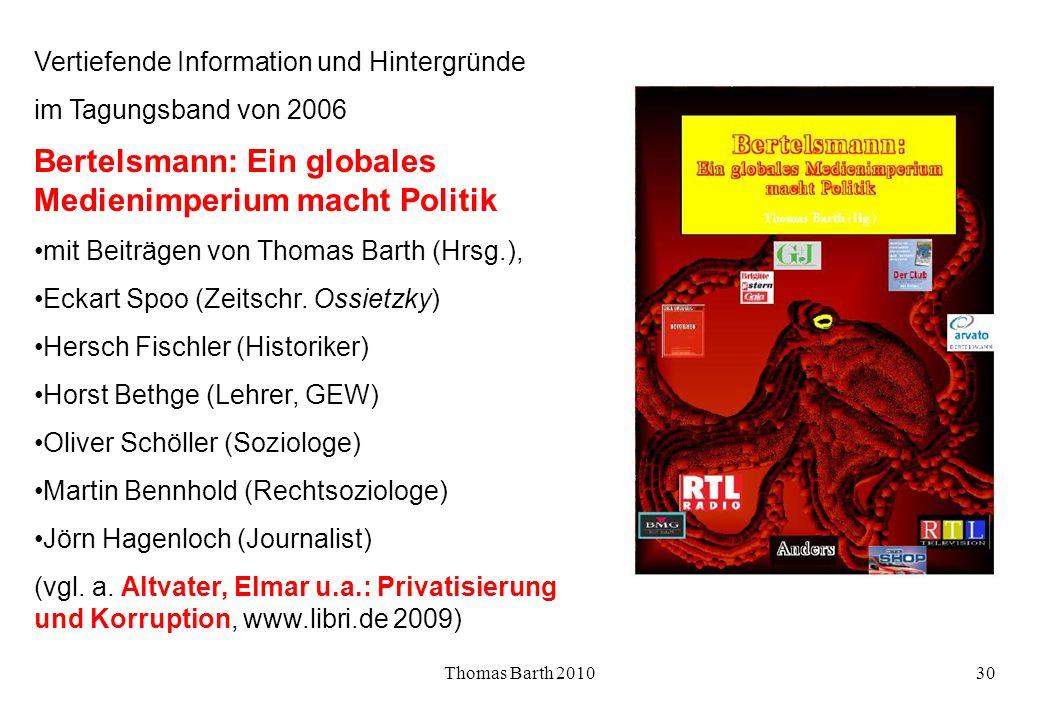 Bertelsmann: Ein globales Medienimperium macht Politik