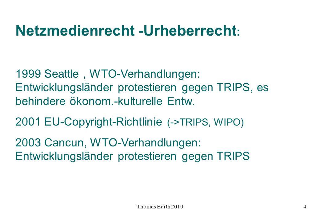 Netzmedienrecht -Urheberrecht: