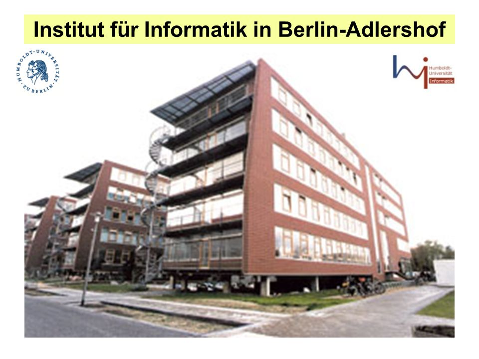 Institut für Informatik in Berlin-Adlershof