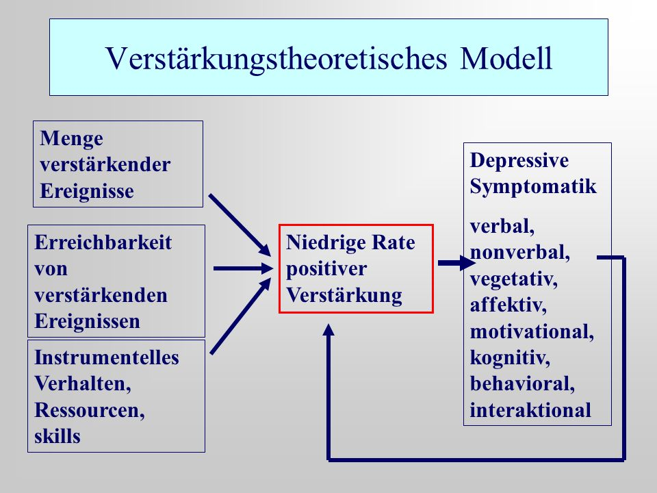 Verstärkungstheoretisches Modell