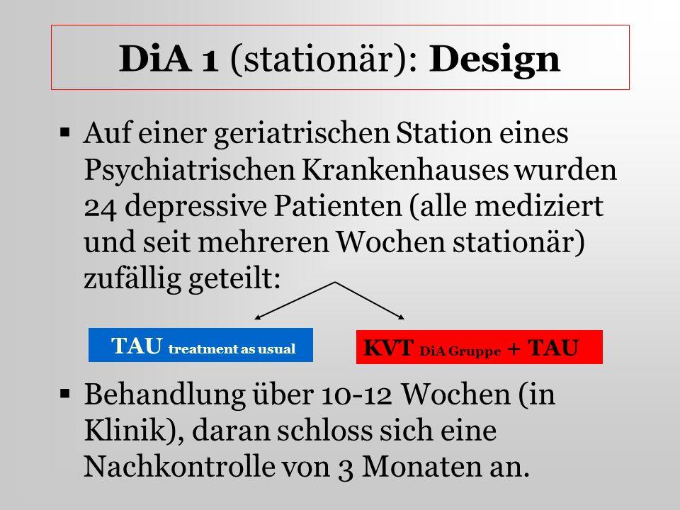 DiA 1 (stationär): Design