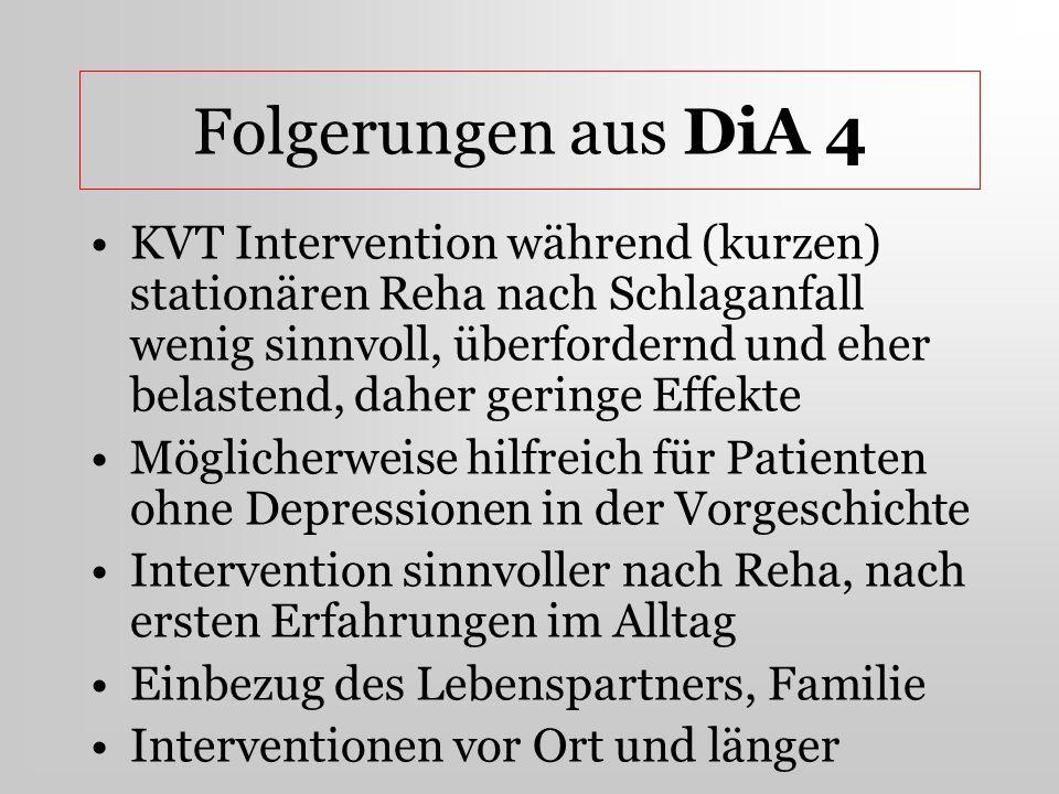 Folgerungen aus DiA 4