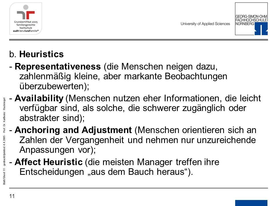NotizenGedruckt/printed. b. Heuristics.