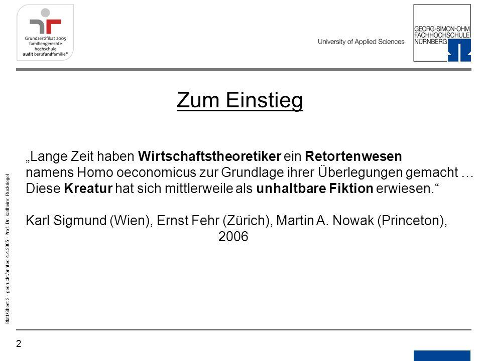 """NotizenGedruckt/printed. Zum Einstieg. """"Lange Zeit haben Wirtschaftstheoretiker ein Retortenwesen."""