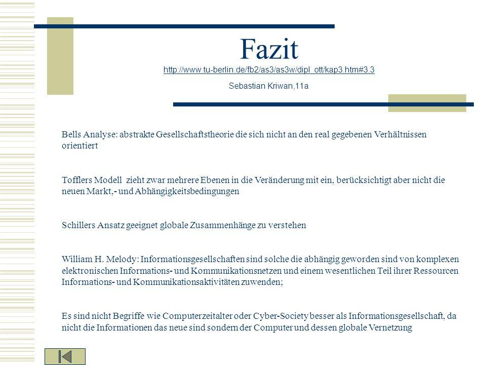 Fazit http://www. tu-berlin. de/fb2/as3/as3w/dipl_ott/kap3. htm#3