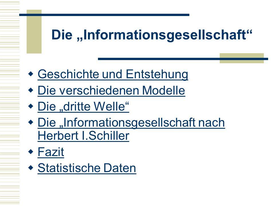 """Die """"Informationsgesellschaft"""
