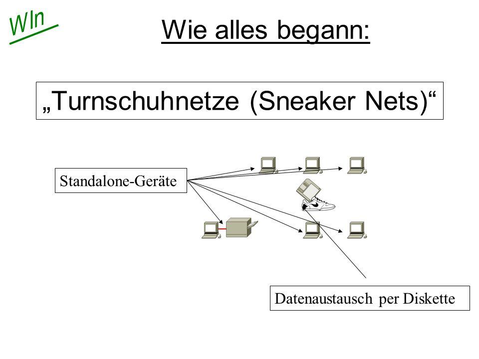 """""""Turnschuhnetze (Sneaker Nets)"""