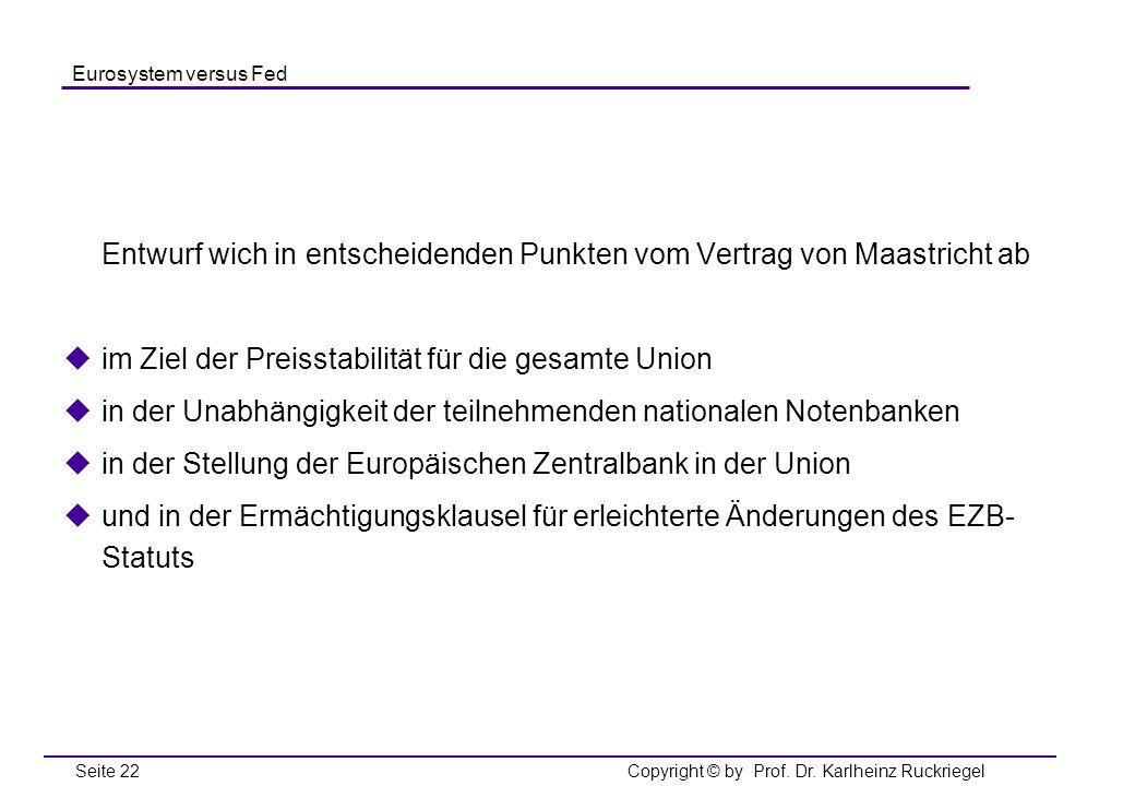 Entwurf wich in entscheidenden Punkten vom Vertrag von Maastricht ab
